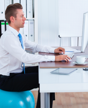 Productive Posture at Work in 3 Simple Steps