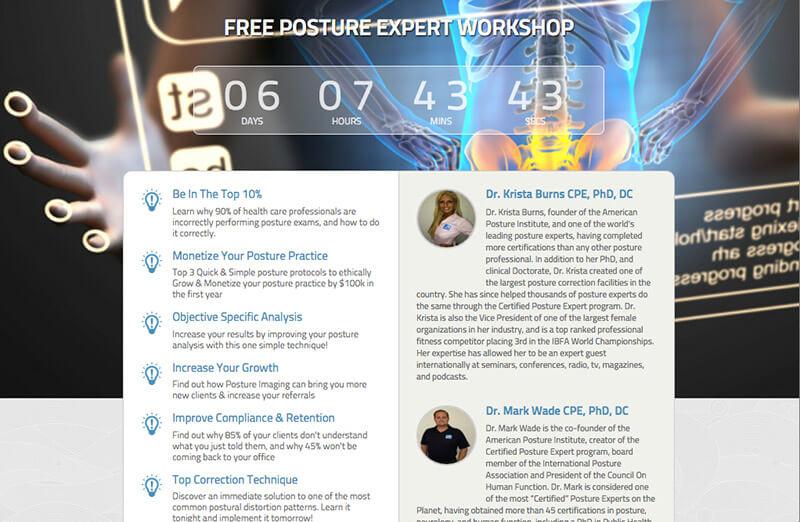 Free Posture Expert Training