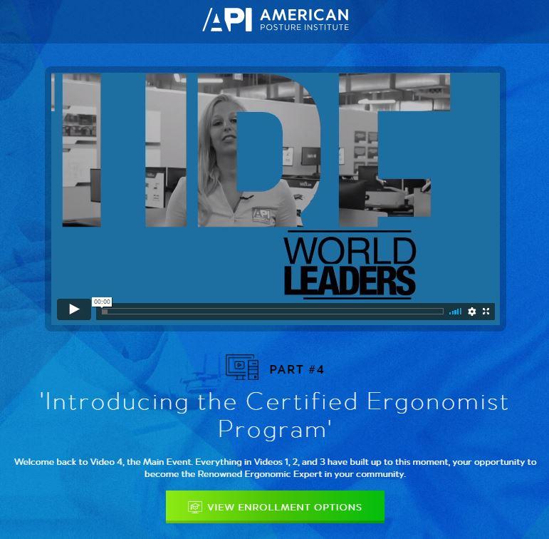 Postural Ergonomist Program